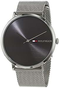 Tommy Hilfiger Unisex Analog Quarz Uhr mit Edelstahl Armband 1791465 ... 020626ad88