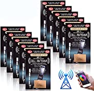 Phone Signal Enhancement, Vangonee 10Pcs Antenna Booster Compact Improve Signal Antenna Booster Sticker Tool f