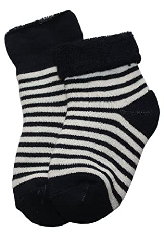 Baby plush socks inside-edge.: Size: 17-18 (6-9 months), Color: dark Blue (Quality and a great price directly from the