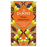 Pukka Organic Three Cinnamon 20 Btl. 40g - BIO 3 verschiedene Zimtsorten