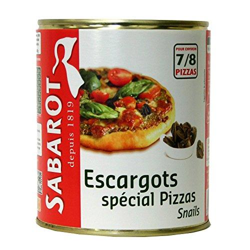 """Sabarot - Escargots """"spécial pizzas"""" en conserve 465g"""