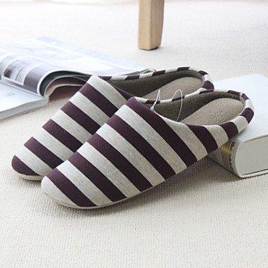Slippers & amp da uomo;Inverno con laccio dietro al tessuto casual Blu Nero Rosa Rosso beige, sandali neri sandali Coffee