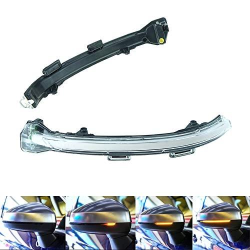Do!LED dynamische LED Blinker Spiegelblinker Außenspiegel - Klarglas - mit Zulassung