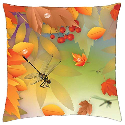 ZHIZIQIU Autumn Bliss - Throw Pillow Cover Case (18 Bliss Ski