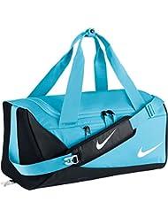 Nike Alpha Duff Bolsa de Deporte, Unisex Niños, Azul (Polarized Blue / Black / White), Talla Única
