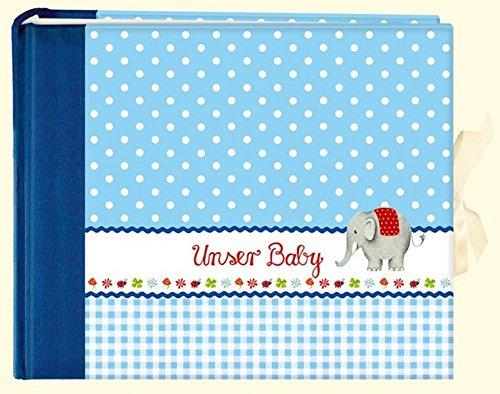 Unser Baby (hellblau): Großes Foto-Eintragalbum