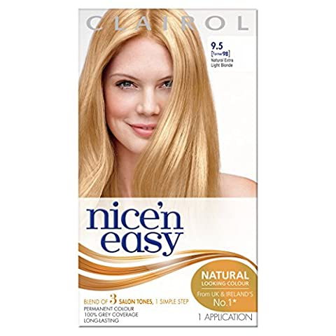 Clairol Nice 'n Easy Permanent Hair Colour - 98 Natural