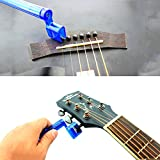 Trading Dukan Alice Guitar String Winder Quick Speed Bridge Pin Remover Peg Puller Guitar Parts Random Color