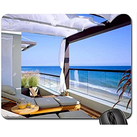 Sea breeze Mouse Pad, Tappetino per Mouse-Mouse Pad, case)