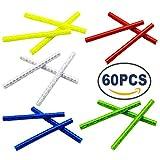 Best Bicycle Wheels - Kebinfen 60 PCS Colorful Bike Spoke Reflectors Bicycle Review