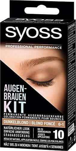Syoss Augenbrauen-Kit 6-1 Dunkelblond, 1er Pack (1 x 17 ml)