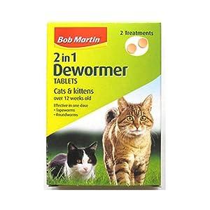 Bob Martin 2 In 1 Dewormer for Cats & Kittens 20g - Bulk Deal of 6x by Bob Martin