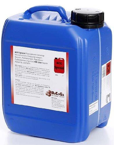 BCG - FLUIDO ESPECIAL (10 L) CONTRA FUGAS EN SISTEMAS DE CALEFACCION Y TUBERIAS