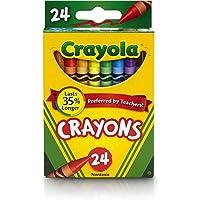 CRAYOLA wax crayons 24 pieces