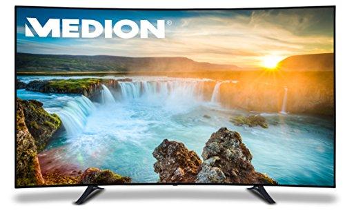 Medion X18095 MD 31150 198,1 cm (78 Zoll) LCD-Fernseher (UHD 4K, 3D, Triple Tuner, DVB-T/C/S2, integrierter Mediaplayer, mit LED-Backlight-Technologie)
