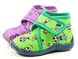 Rohde 2101 Kiddie Baby Schuhe Kinder Hausschuhe Jungen Mädchen, Größe:25;Farbe:Violett