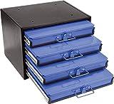 Werkzeug Box inkl. 4 Sortimentskästen ohne Bestückung