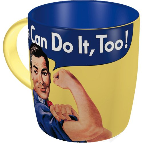 Nostalgic-Art 88002 USA - We Can Do It Too - Special Edition, Tasse