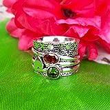 Garnet Handmade Rings