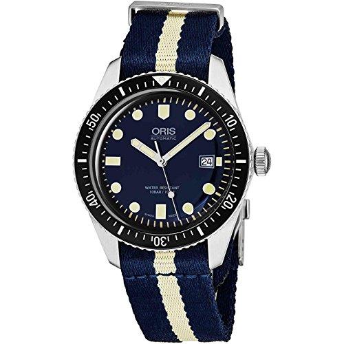 Oris Divers da uomo Sessantacinque 42mm automatico analogico orologio 0173377204055-ls29