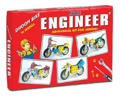 LITTLE ENGINEER DHOOM BIKE  available at amazon for Rs.395