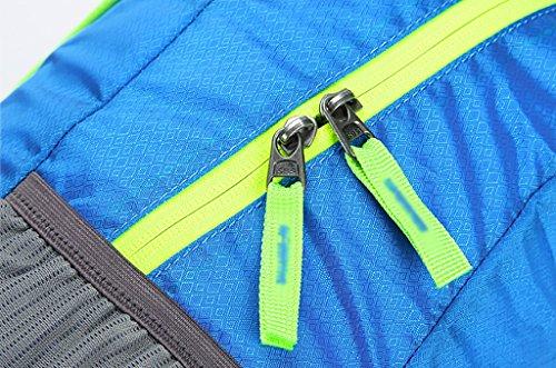 zaino trekking Ambientazione esterna Borsa a tracolla uomini / donne 20L Walking Tracolla pieghevole portatile dello zaino (45 * 28 * 15cm) Zaini da escursionismo ( Colore : A , dimensioni : 20L-45*28 B
