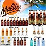 Best Sun Tanning Products - Malibu Suncare Suntan Products - Sun Creams, Dry Review