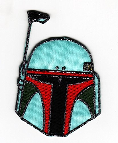 Aufnäher Bügelbild bestickt Patch Star Wars Boba Fett Bounty Hunter Badge