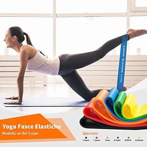 Zoom IMG-2 topelek 6 pezzi elastici fitness