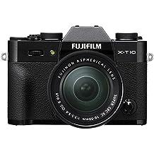 "Fujifilm X-T10 - Cámara EVIL de 16 MP (pantalla de 3"", LCD, 1080 p FHD, CMOS II) negro - kit cuerpo con objetivo Fujinon XC 16 - 50 mm f/3.5 - 5.6 OIS II"