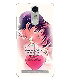 PrintDhaba Quote D-3051 Back Case Cover for LENOVO K5 NOTE (Multi-Coloured)
