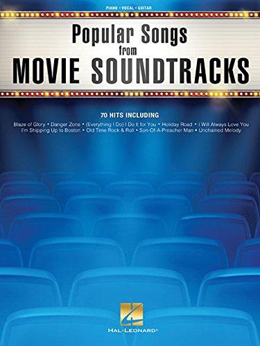 Popular Songs From Movie Soundtracks -Piano, Voice & Guitar Book-: Noten (Pianovocalguitar a)