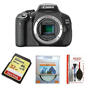 Canon EOS 600D Digital SLR Camera (Body Only) (discontinued by manufacturer) – (Discontinued by Manufacturer)