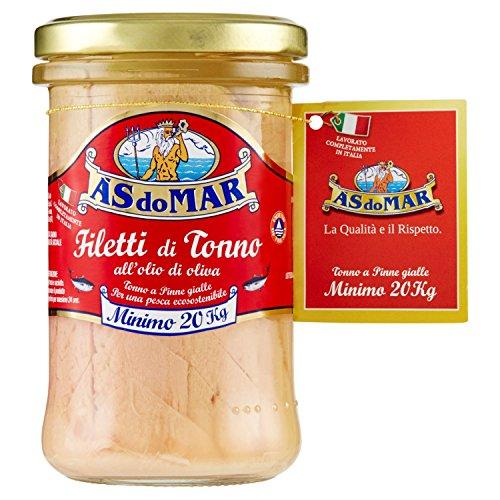 Asdomar Filetti di Tonno all'Olio di Oliva - 3 confezioni