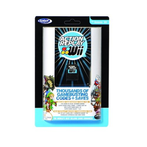 Datel Action Replay Cheat-Modul 1GB Adapter Power-Saves für Nintendo Wii Spiele (Gamecube Cheat)