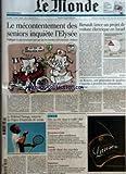 Telecharger Livres MONDE LE No 19594 du 22 01 2008 LE PRIX EUROPEEN DE LA RECHERCHE EMPLOI DISCRIMINATIONS A L EMBAUCHE LE MECONTENTEMENT DES SENIORS INQUIETE L ELYSEE POLITIQUE LE GOUVERNEMENT VEUT AGIR SUR LES RETRAITES ET LE MINIMUM VIEILLESSE RENAULT LANCE UN PROJET DE VOITURE ELECTRIQUE EN ISRAEL AU KOSOVO UNE GENERATION DE QUADRAS S APPRETE A PRENDRE LES COMMANDES PAR CHRISTOPHE CHATELOT JO WILFRIED TSONGA SURPRISE DE L OPEN D AUSTRALIE DE TENNIS ETRE OUVRIER DANS LE GOLFE DUR DEM (PDF,EPUB,MOBI) gratuits en Francaise