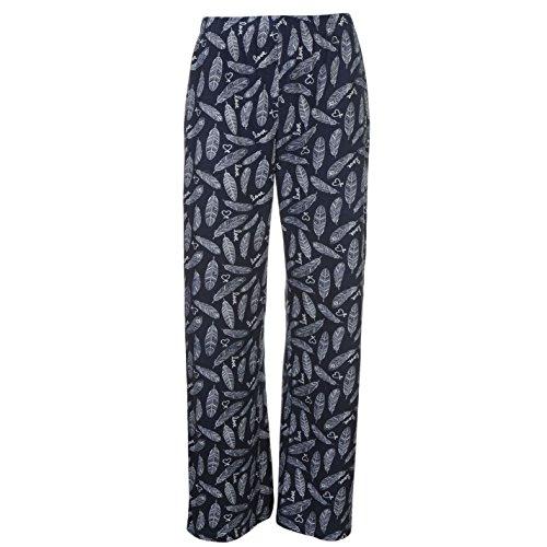 Miso Femme Vest Ensemble De Pyjama Pantalon Top Haut T-Shirt Pajama Col V Young And Wild