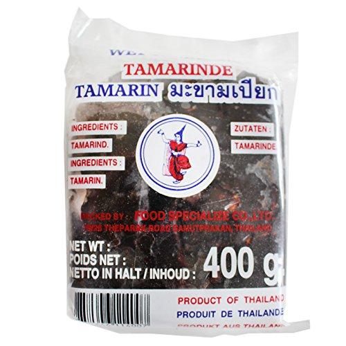 10x400g Tamarindenpaste ohne Kerne im Block