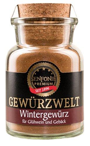 Altenburger Original Senfonie Premium Wintergewürz, 75g im Korkenglas, Gewürzmischung für Kuchen, Kekse, Glühwein und Punsch
