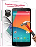 PThink� 0.3mm Ultra-thin Tempered Glass Screen Protector for Google Nexus 5 with 9H Hardness/Anti-scratch/Fingerprint resistant (Google Nexus 5)