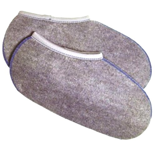 2 Paar Stiefelsocken sogenannte Rosshaarsocken Grau Made in Germany, Farbe:Grau;Größe:45-46