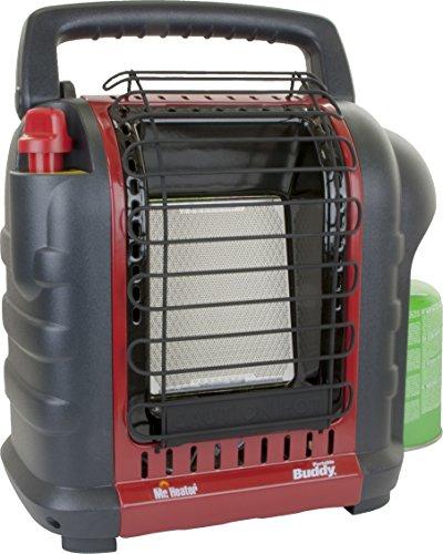 Mr. Heater Portable Buddy Gasheizung inkl. Adapter für Gaskartuschen mit 7/16-Gewinde; - 2