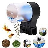 EEIEER Automatique pour Aquarium Petit Cube avec 2 Reglable Nourriture de Poissons distributeurs pour Aquariophilie pour Vacances
