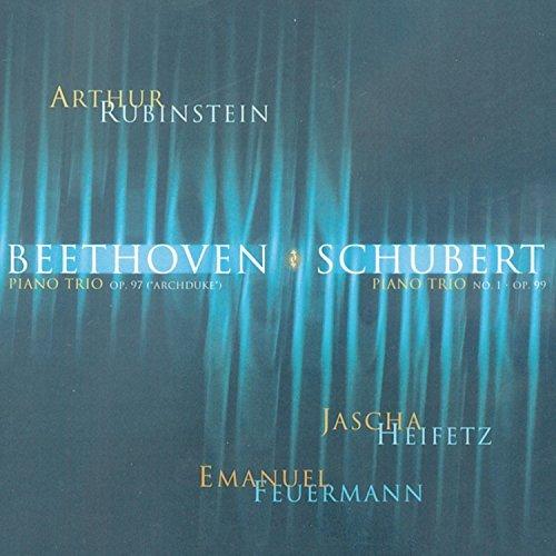 Rubinstein Collection, Vol. 12: Beethoven: Piano Trio, Op. 97 Archduke; Schubert: Piano Trio No. 1, Op. 99 by Arthur Rubinstein (2004-09-22)