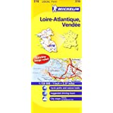 Michelin Map France: Loire-Atlantique, Vendee 316