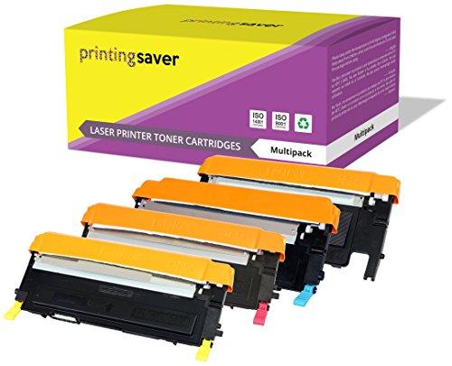 Preisvergleich Produktbild 4er Set Toner kompatibel für Samsung CLP-310,  CLP-310N,  CLP-315,  CLP-315N,  CLP-315W,  CLX-3170,  CLX-3170FN,  CLX-3170FW,  CLX-3170N,  CLX-3175,  CLX-3175FN,  CLX-3175FW,  CLX-3175N drucker