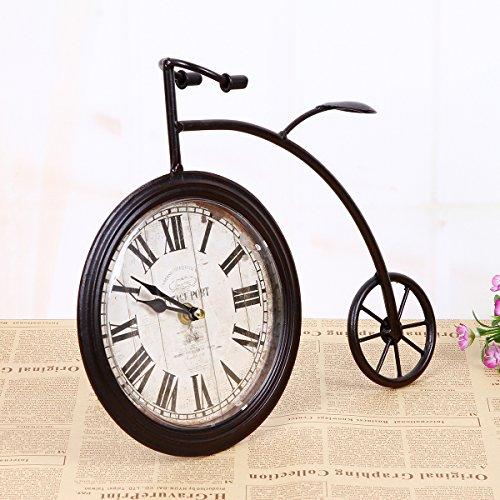 kinine-nueva-forja-hogar-adornos-artesanias-relojes-retro-pintura-bicicleta-cara-reloj