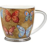 Hidden World - Taza (porcelana), diseño de mariposas