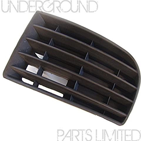 Underground Parts VW-G5-02L Left Passenger Nearside Bumper Grill (No Fogs)