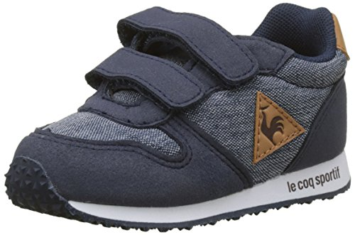 Le Coq Sportif Baby Jungen Alpha Inf Craft Dress Blue/Brown Sugar Stiefel, Beige Bleu, 26 EU